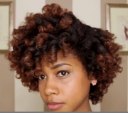 perfect curls with heat
