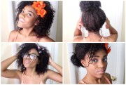 black women natural hair styles