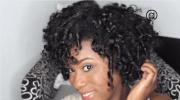 soft bouncy curls dry