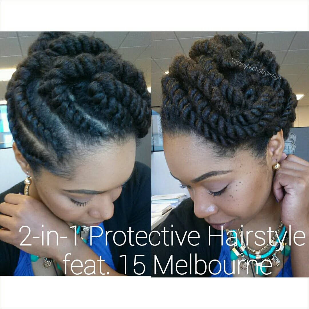 Fun And Elegan Flat Twist Protective Style