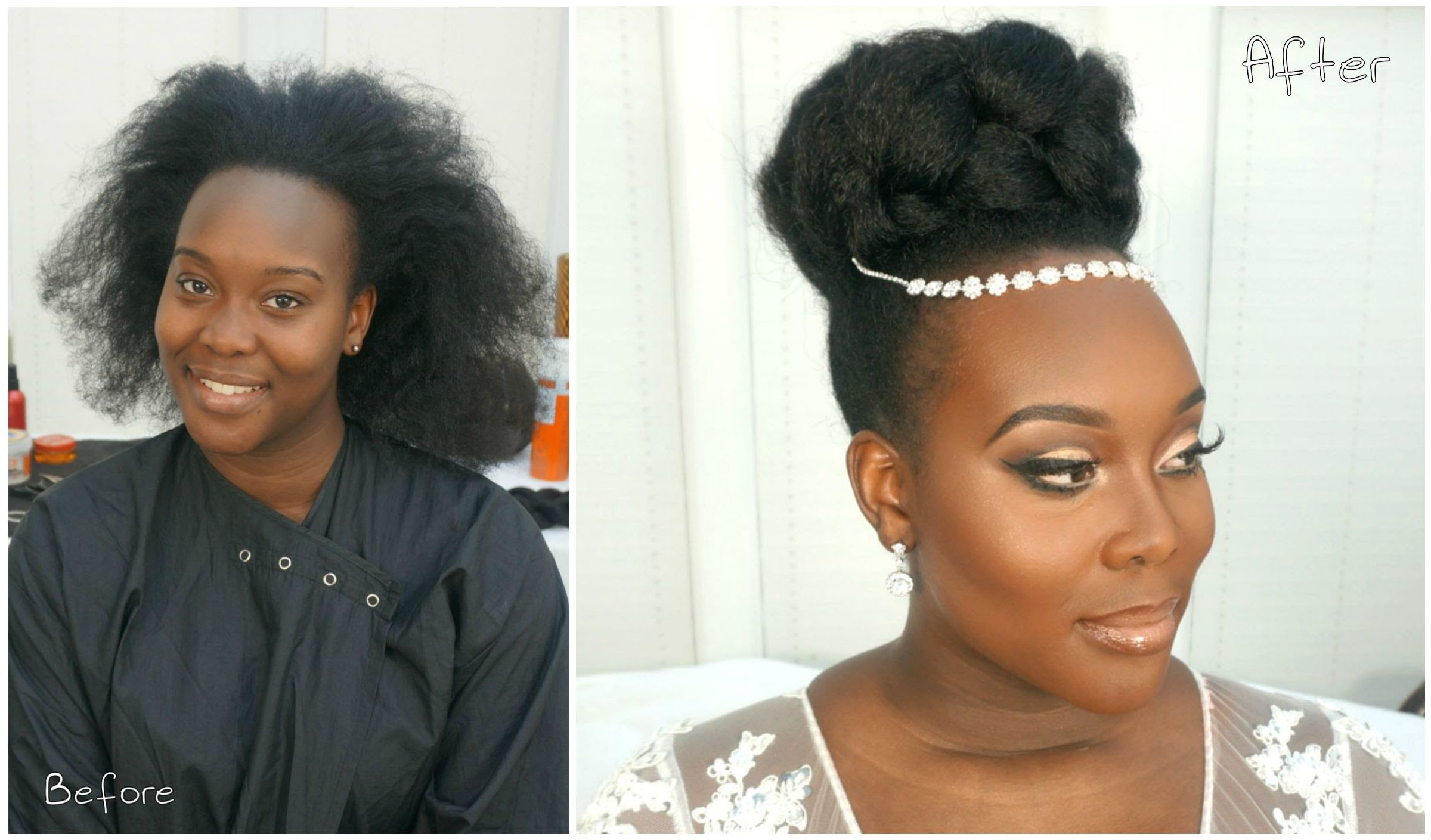 This Gorgeous Bridal Natural Hairstyle Video Tutorial Is Perfect