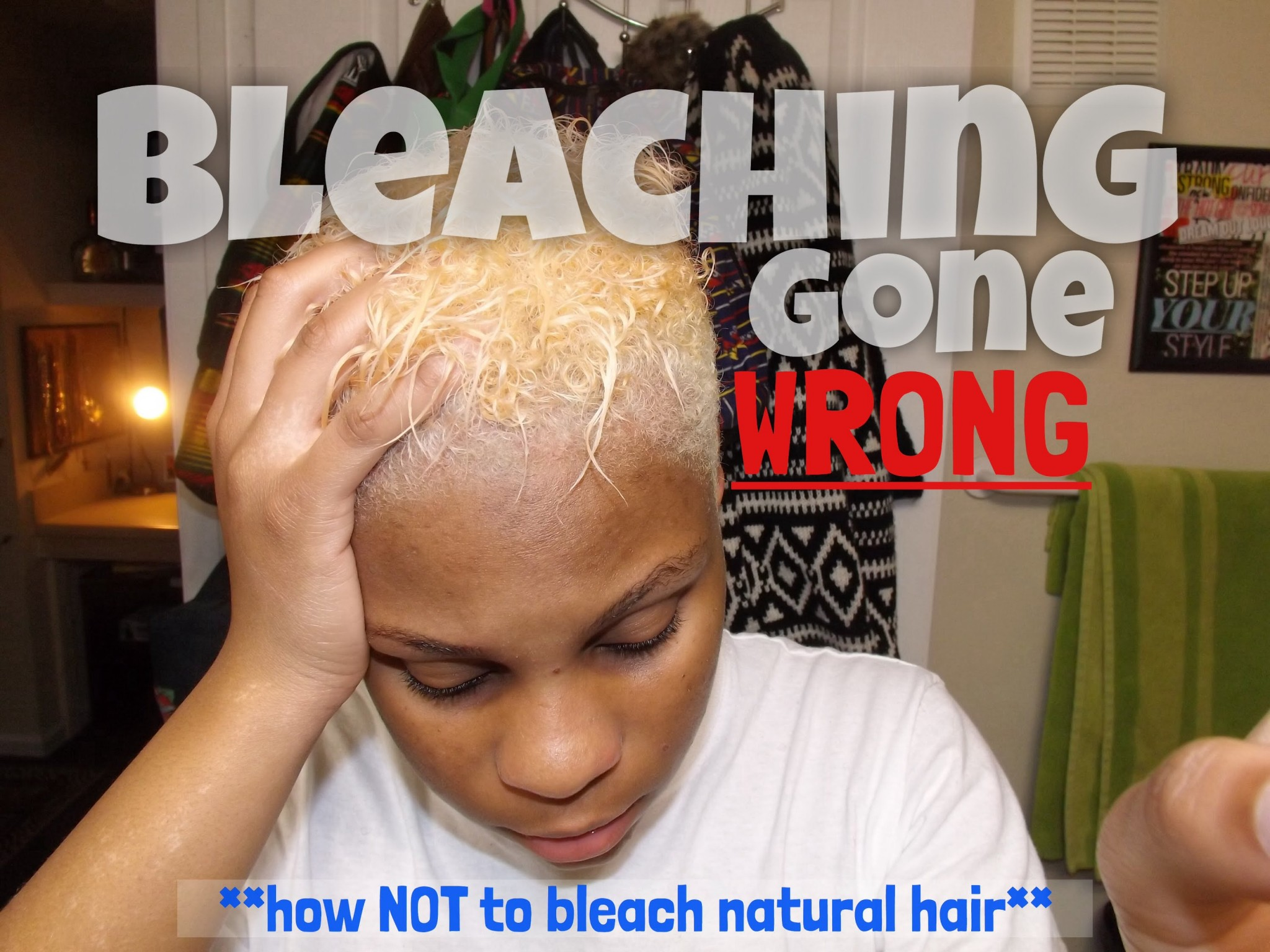 Hair Bleaching And Coloring Gone Wrong And How To Recover