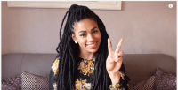 9 Quick And Amazing Ways To Style Your Locs And Braids ...