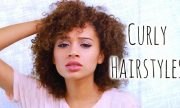 5 easy curly hairstyles school