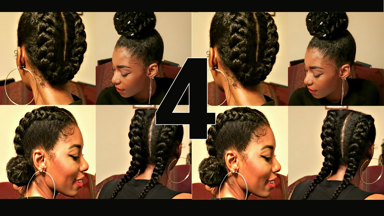 4 Flawless Elegant Holiday Protective Styles You Can Do Yourself