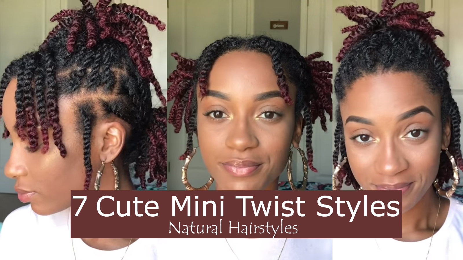7 Quick And Easy Styles You Can Do With Your Mini Twists