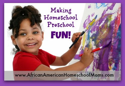 Homeschool Preschool Fun