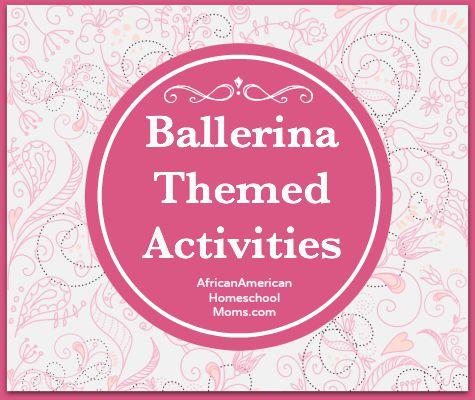 Ballerina Themed Activities