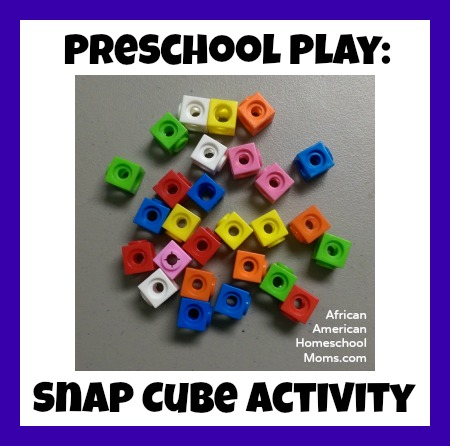 Snap Cube Activity