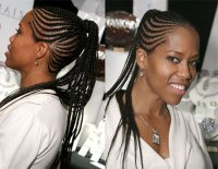African American Ponytail Hairstyles 2017
