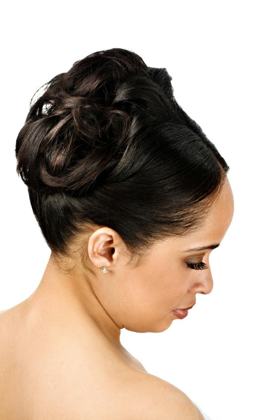 African American Wedding Updo Hairstyles 2019