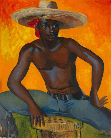Man in a Straw Hat II