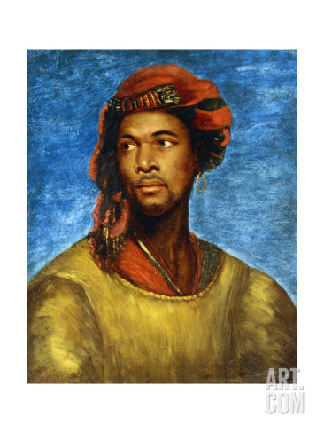 MOOR WITH A RED TURBAN