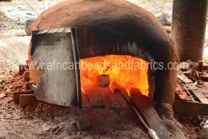 Mould in firing oven