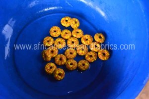 Washed beads