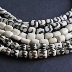 Bone Clay Wood Shell Beads