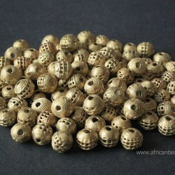 Brass Beads and Clasps