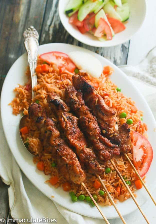 Oven Baked Jollof Rice