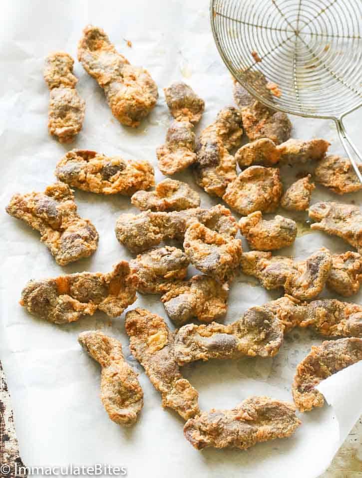 Fried Gizzard