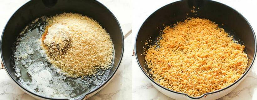 Toasting The Breadcrumbs - Breaded Pork Chops