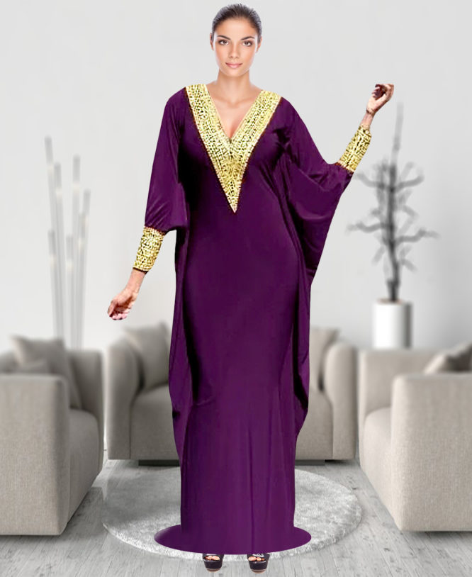 Lady Attractive Spandex Loaded Abaya