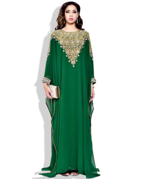 Long Sleeves Arabic Fashion Dresses