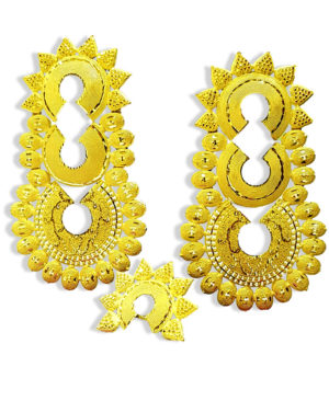 Antique Design Golden Plated Earring