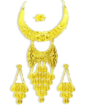Rich Yellow Golden Plated Necklace
