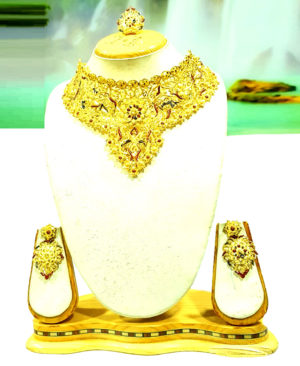 Designer Chokar Golden Plated Necklace