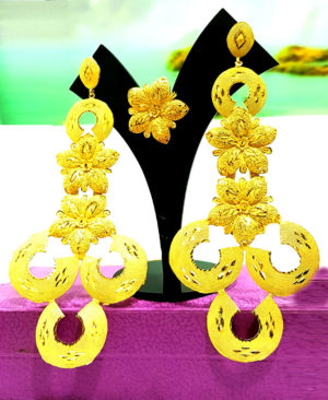 Latest Designer Gold Plated Earrings Designs Set