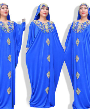 Kaftan fashion muslim ladies dress