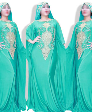 Fashion kaftan Style ladies dress