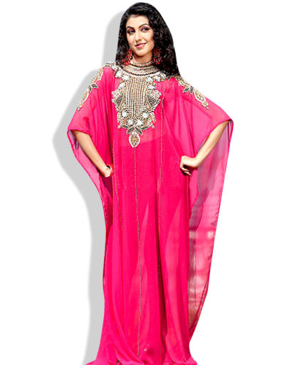 Stylish Kaftan Dress Fancy Arabian Women