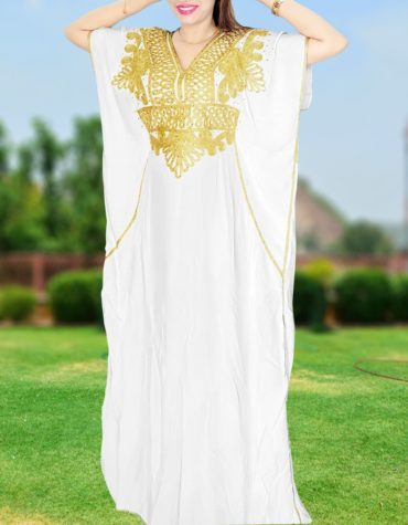 Breathable African Abaya Designer Beach Maxi Rayon Cocktail party kaftan