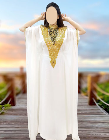 African Attire Moroccan Dubai Kaftan Dresses For Women Wedding Evening Gown
