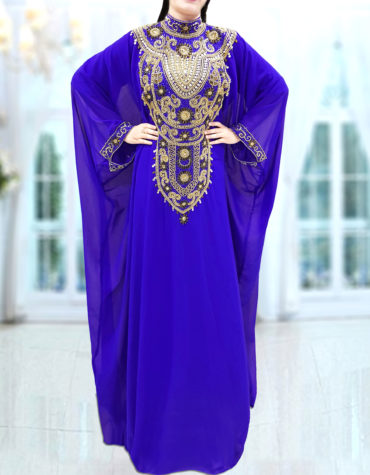Women's Dubai Evening Collared Abaya African Dresses for Women Party