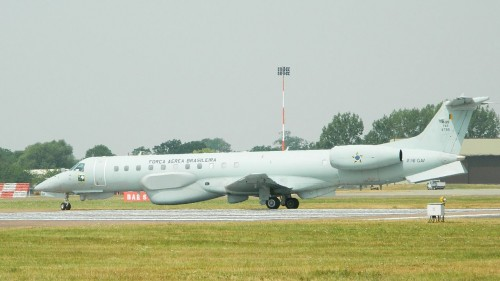 Brazilian Air Force Embraer R-99B, an example of the type of SIGINT/COMINT aircraft that could be acquired and shared by SADC's air forces - Photographer: Alan Wilson