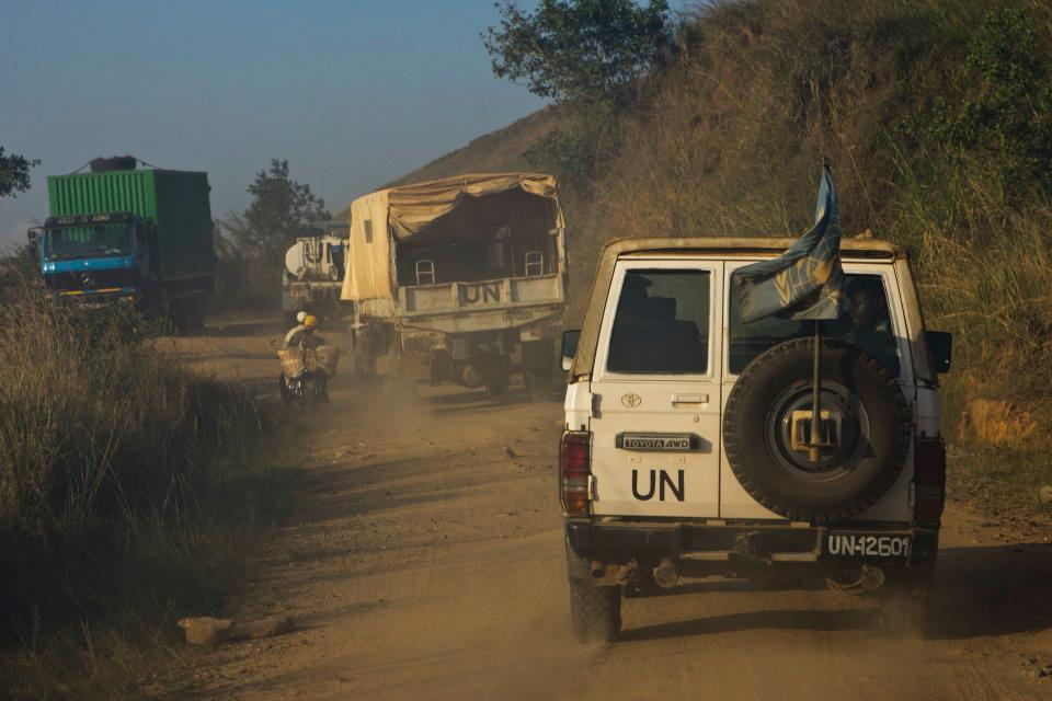 MONUSCO forces on patrol near Ituri. RICHARD STUPART/ADR