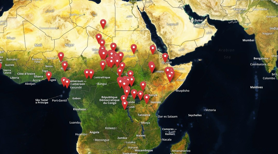 African Conflict Map Launches