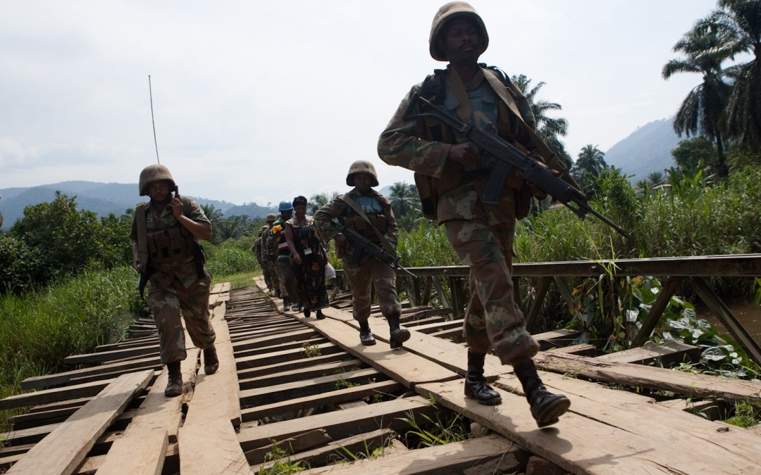 SANDF withdraws some FIB troops over indiscipline