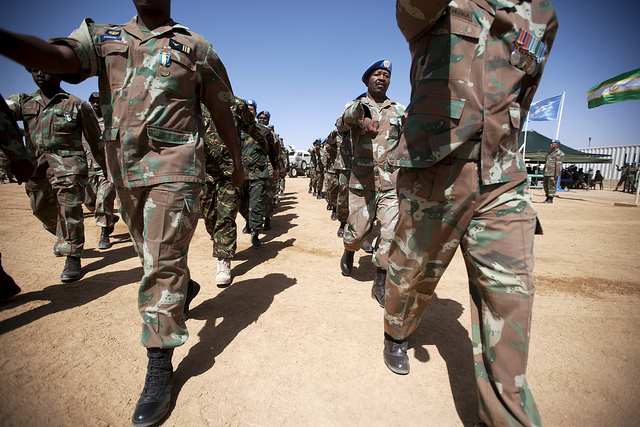 South Africa to withdraw from UNAMID