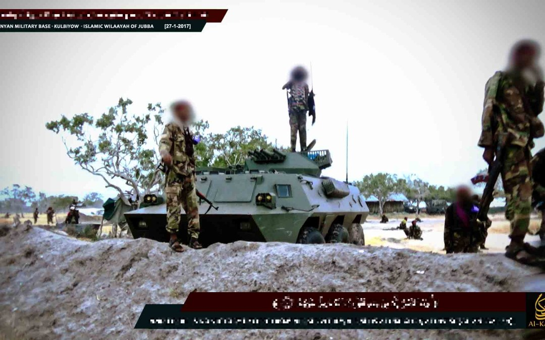 Al-Shabaab reportedly overran another KDF military base