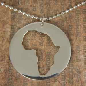 Collar Rodona Àfrica Plata