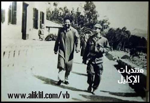 Foto 2: Mandela e un soldato algerino