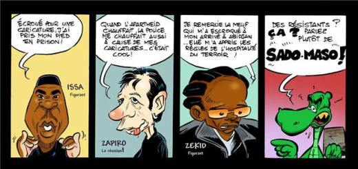cartoon by Almo the Best, Cameroon
