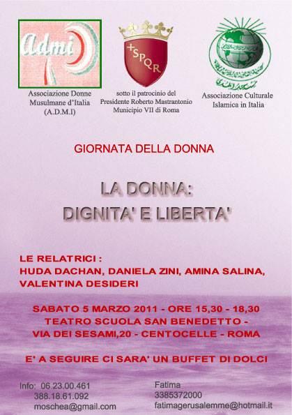 donna-dignita-liberta-roma