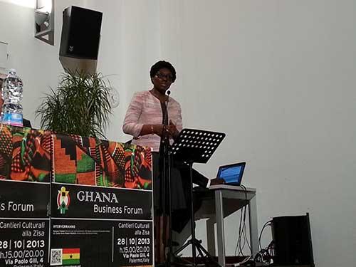 ghana-business-forum-Ministro-per-gli-Investimenti-del-Ghana-Mawuena-Trebarh
