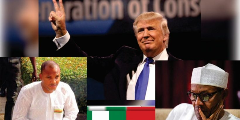 BIAFRA WINS!! 24HRS TO IPOB RALLY SUPPORT FOR DONALD TRUMP – TRUMP REACTS AGAINST BUHARI, INVITES GOODLUCK JONATHAN (MUST SEE)