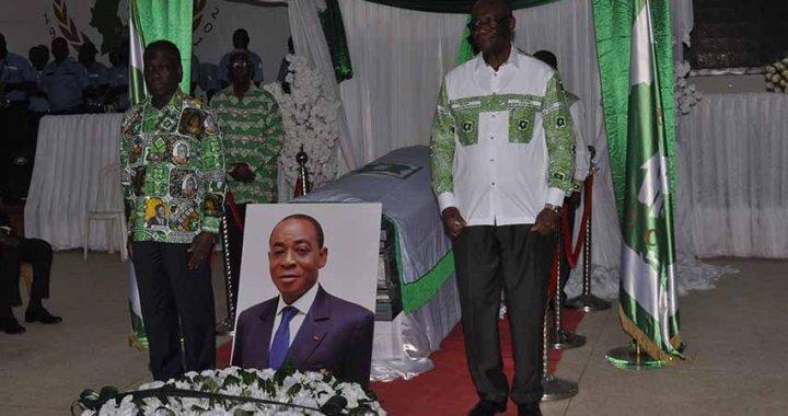 Obsèques de Charles Koffi Diby : «Charles avait de la valeur aux yeux des militants du PDCI» (Famille)
