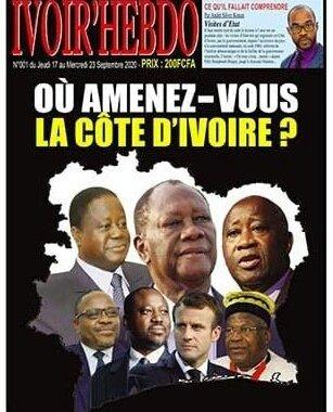 Côte d'Ivoire : Ivoir'Hebdo, premier journal indépendant consacré aux grands genres, sur le marché, à 200 FCFA